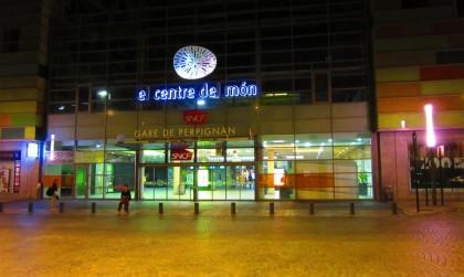La gare de Perpignan - Le Centre du Monde