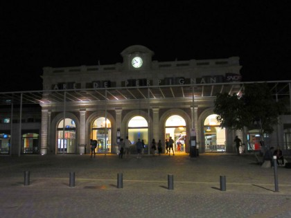 La gare de Perpignan