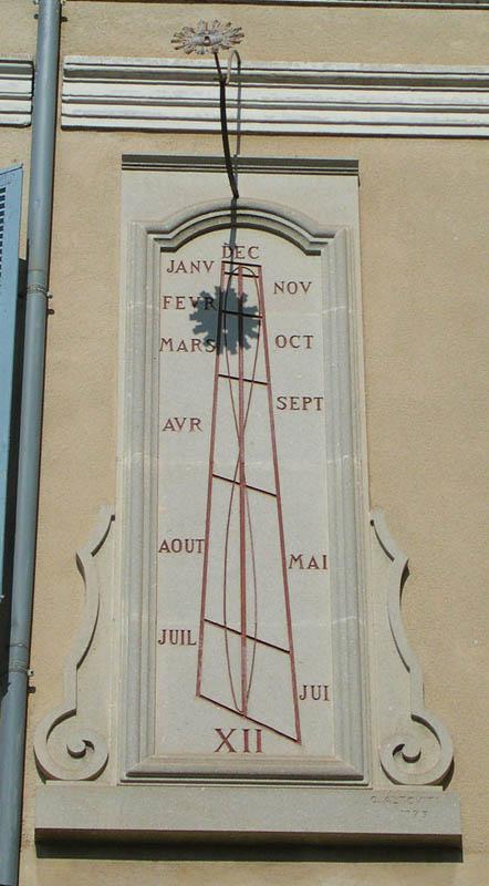 Le cadran solaire de Carpentras