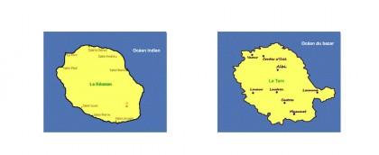 Comparaison Tarn - Réunion