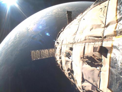 Vue extérieure de Genesis II