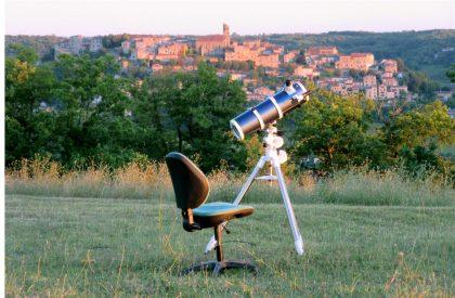 Télescope pour la nuit de l'astronomie du 27 juillet à La Couronne (Cordes sur Ciel)