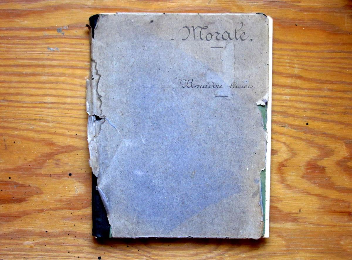 Cahier de morale (1927)