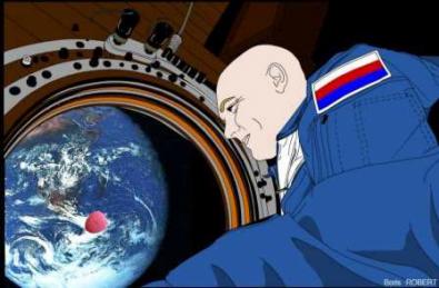 Le letchi dans l'espace