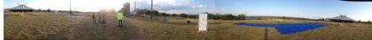 Panoramique du site d'observation de La Couronne à Cordes sur Ciel