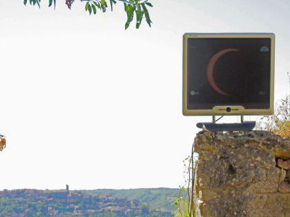 Eclipse annulaire du 1er septembre 2016 vue en direct depuis Cordes sur Ciel 04