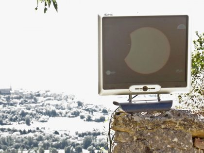 Eclipse annulaire du 1er septembre 2016 vue en direct depuis Cordes sur Ciel 12