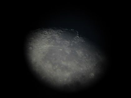 Lune gibbeuse - Zoom 3