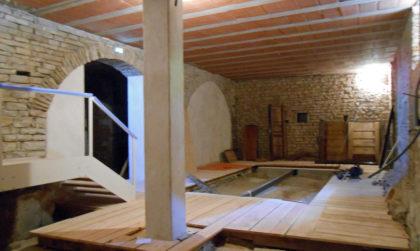 Musée Charles Portal - Salle de la broderie vide