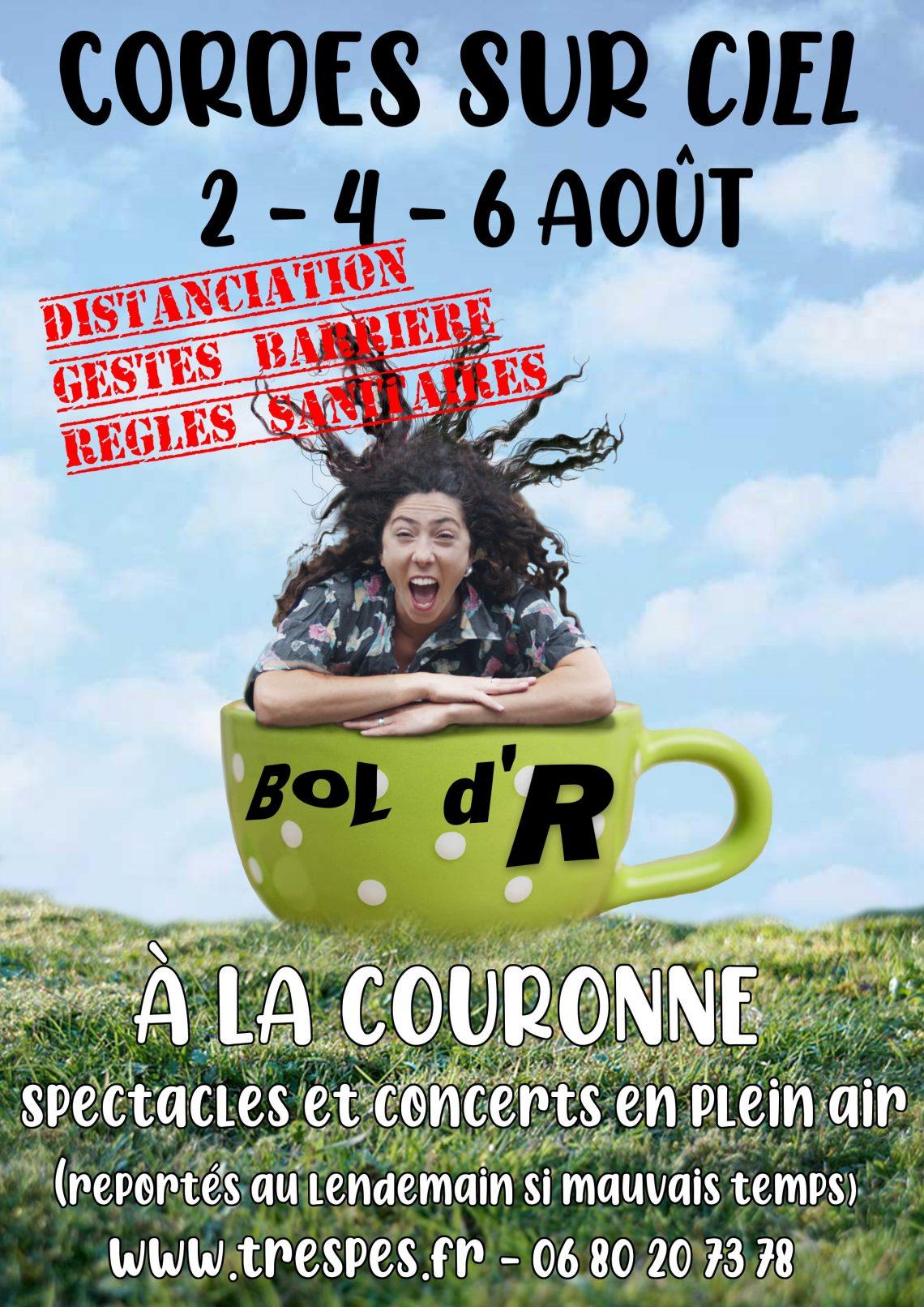 """Affiche du festival """"Bol d'R"""" à Cordes sur Ciel"""