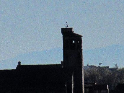 Réfraction basse des Pyrénées à Cordes sur Ciel