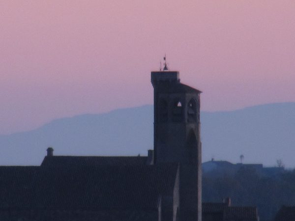 Réfraction moyenne des Pyrénées à Cordes sur Ciel