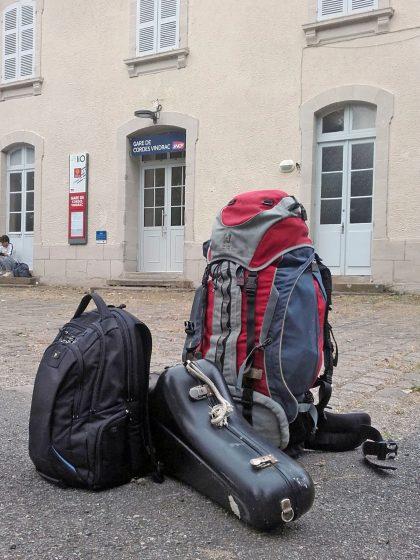 Bagages - Retour à Cordes