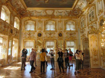 Visite Peterhof intérieur